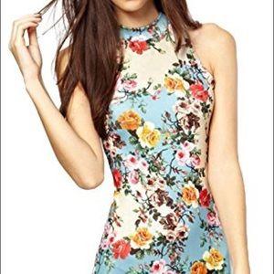 Dresses & Skirts - Floral pencil dress